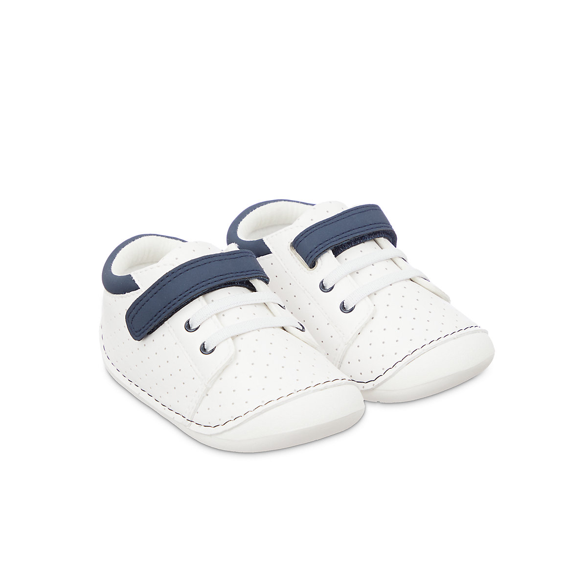 Buy first walker white crawler trainers