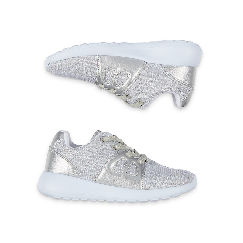 Buy sparkly silver lightweight sporty